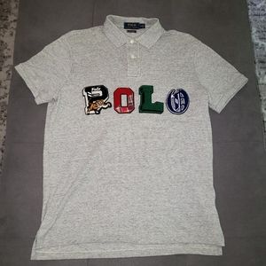 Polo Ralph Lauren yale tiger spellout polo shirt